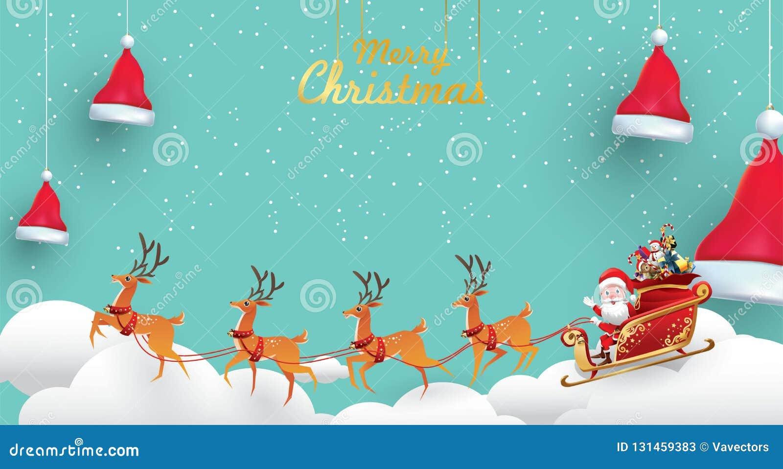 Premium Vector | Merry christmas. happy new year. funny