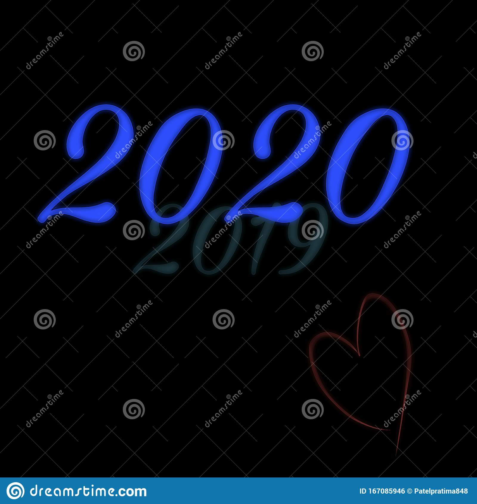 merry christmas happy new year sign neon greeting card abstract black background blank space pattern wallpaper merry 167085946