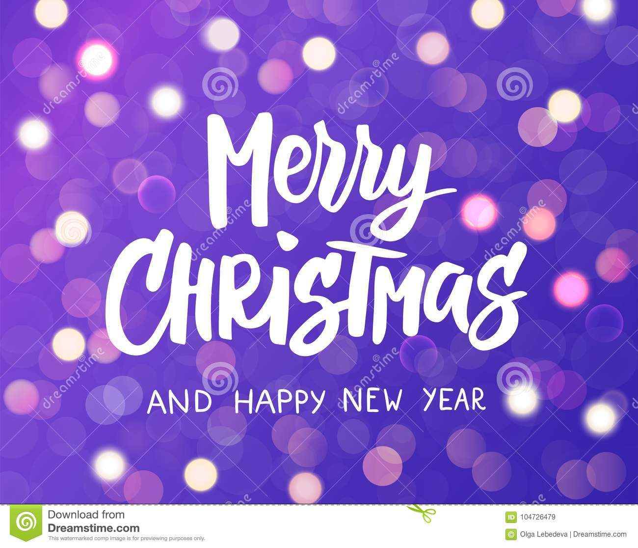 Merry Christmas And Happy New Year Text Holiday Greetings Quote