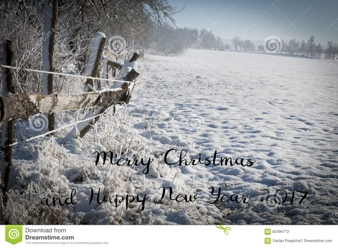 merry christmas and happy new year 2017 trendy natural card original christmas background from nature