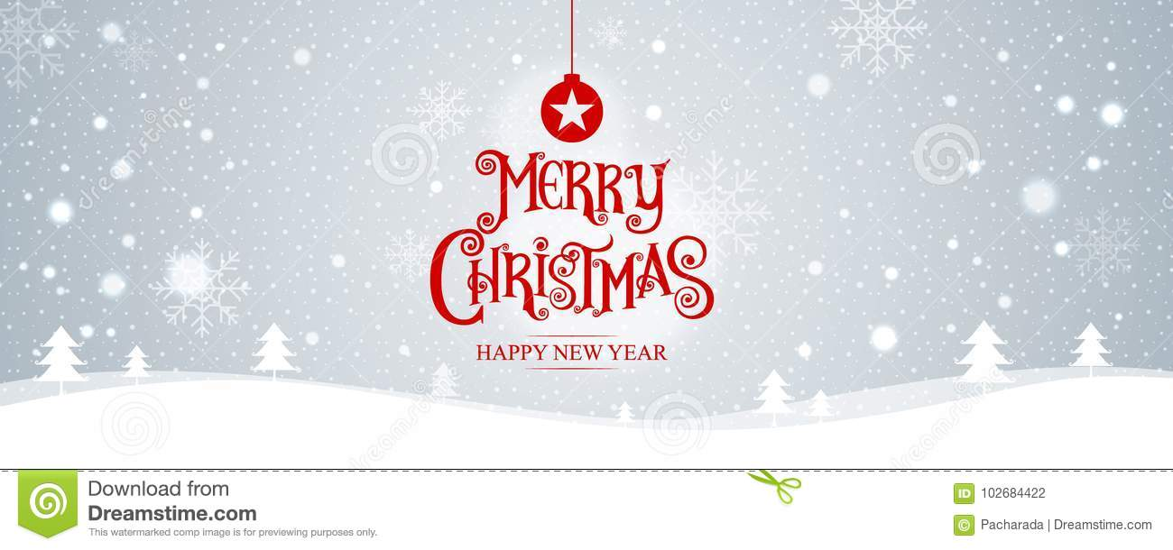 merry christmas happy new year vector illustration lettering stock vector illustration of decoration gold 102684422 https www dreamstime com merry christmas happy new year vector illustration lettering design stars sparkles landscape background snow banner image102684422