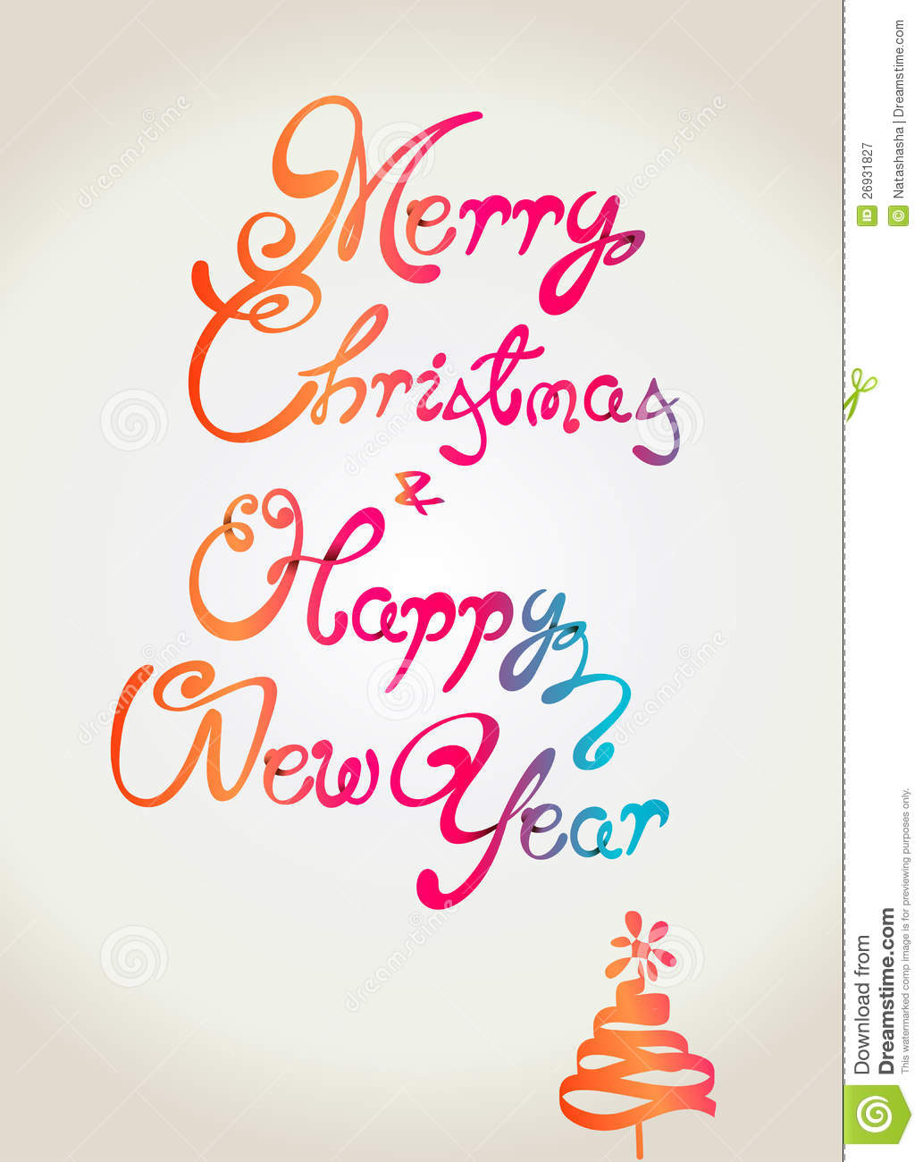 ... Christmas And Happy New Year Clip Art Merry christmas and happy new
