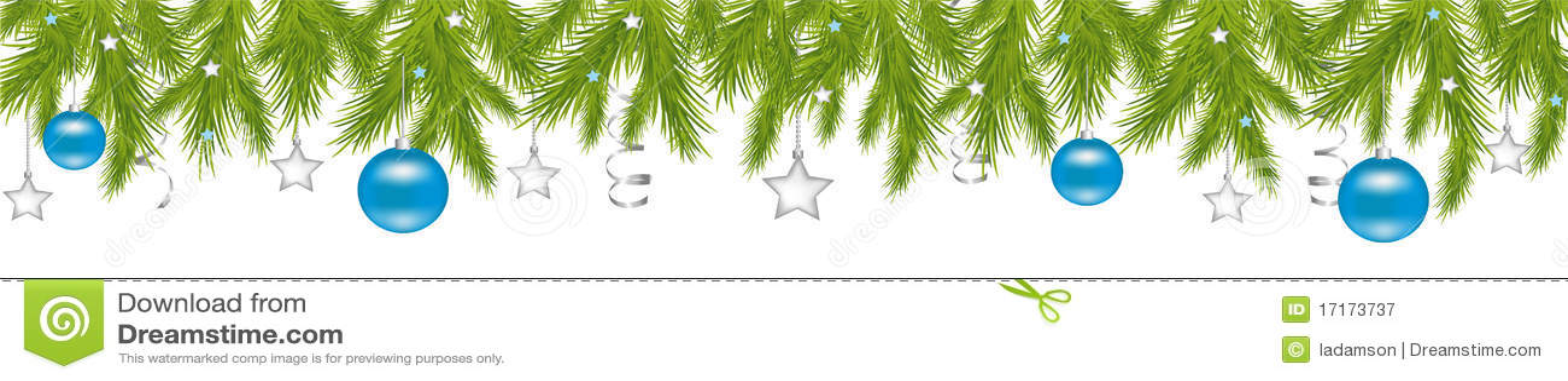 Christmas Header.Merry Christmas Header Vector Stock Vector Illustration