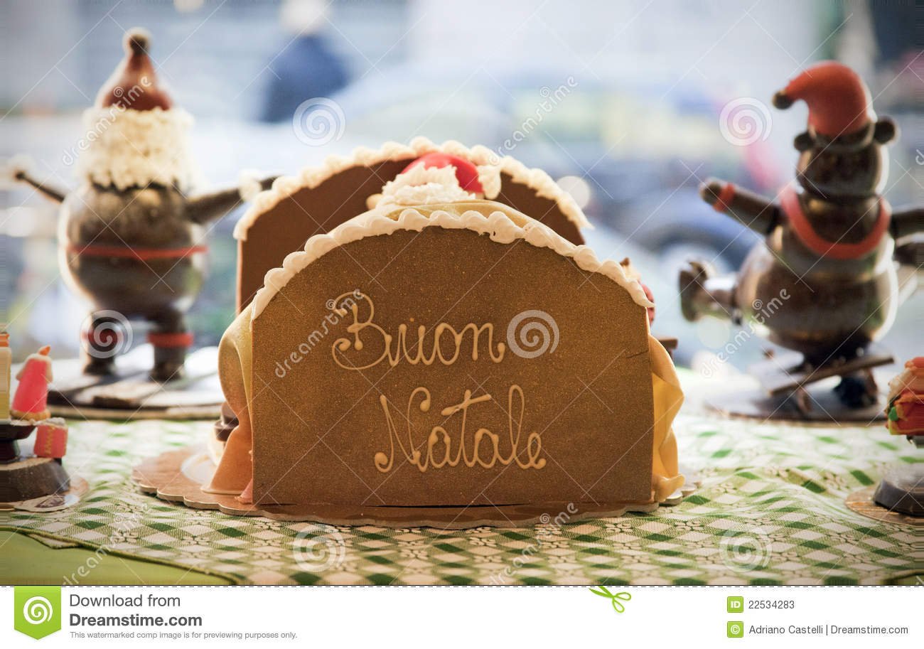 Buon Natale Freestyle Download.Merry Christmas In Italian Language Buon Natale Stock Image