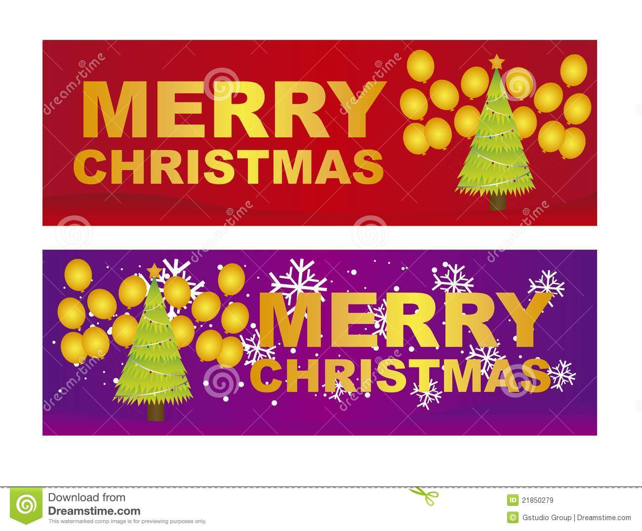 Merry Christmas Labels Royalty Free Stock Images - Image: 21850279