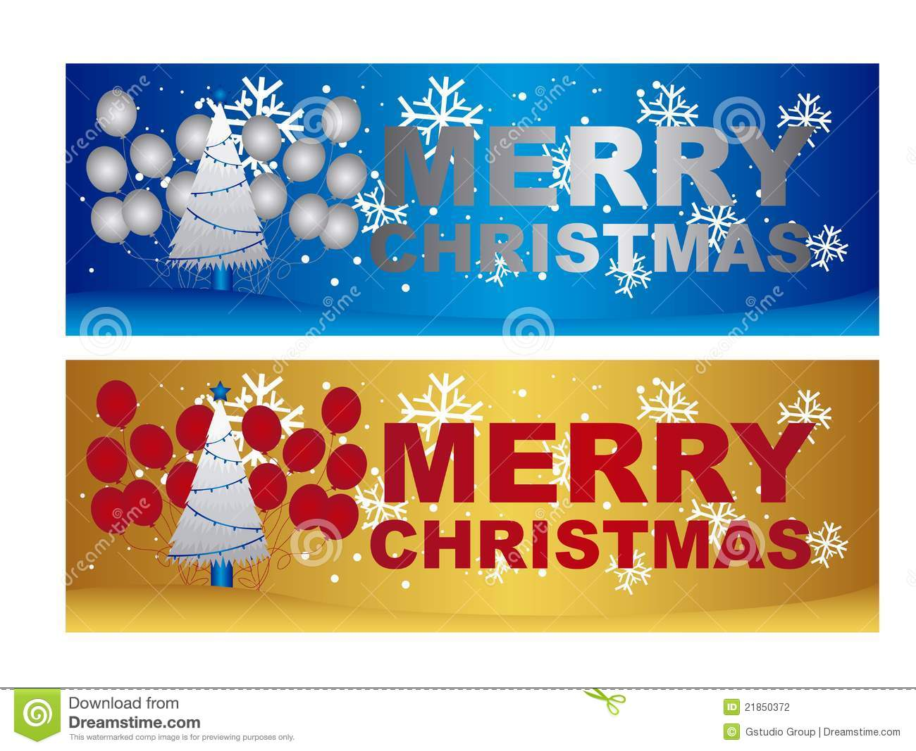 Merry Christmas Labels Stock Photography - Image: 21850372