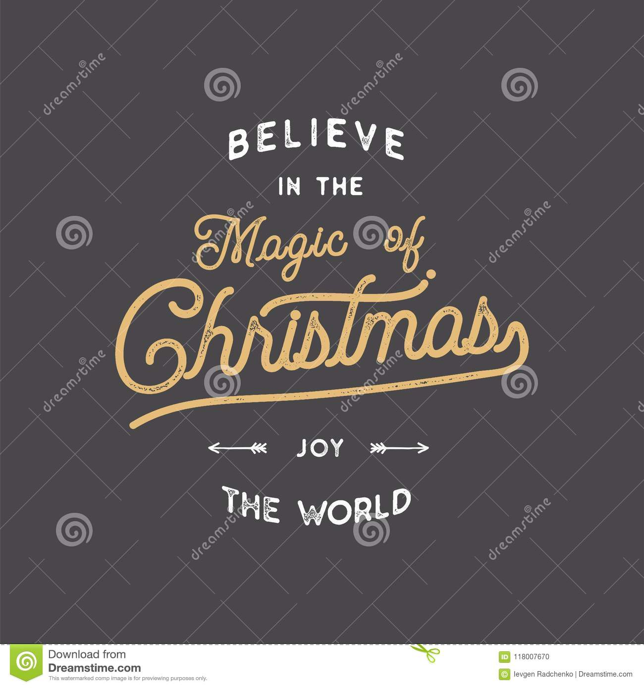 merry christmas lettering let it snow typography quote wish with sunbursts new year