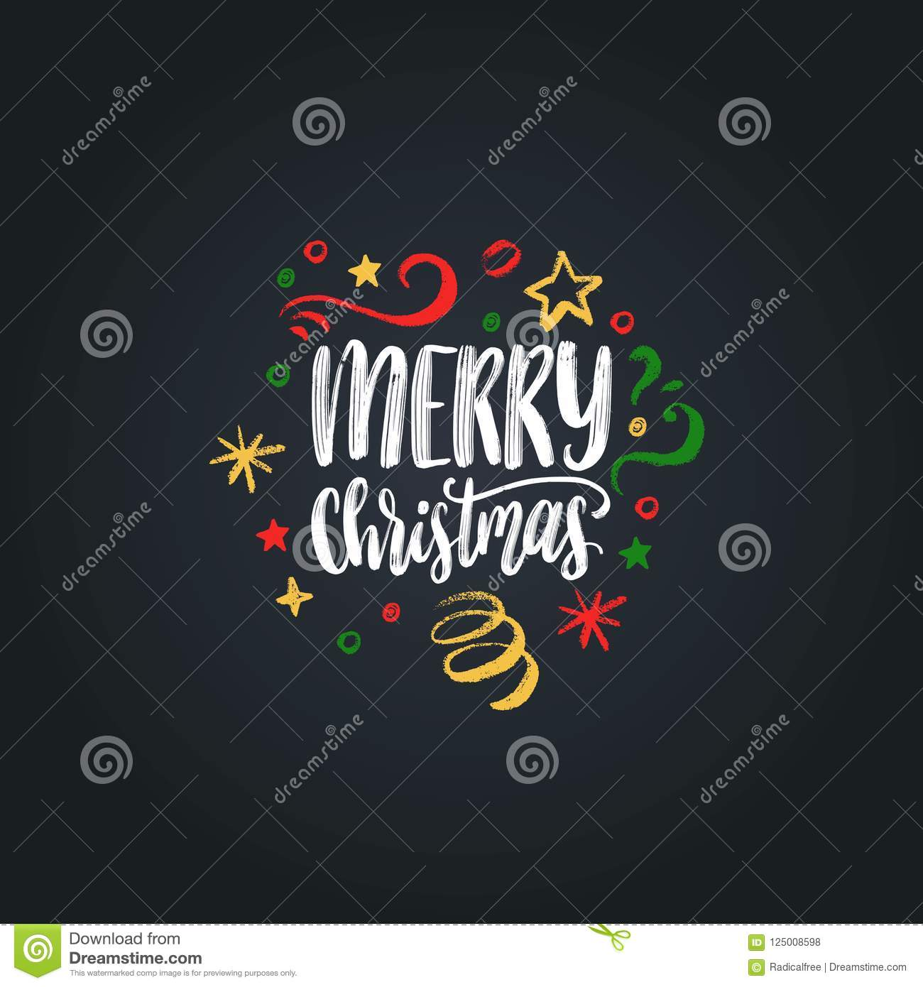 Merry christmas lettering vector hand drawn new year illustration download merry christmas lettering vector hand drawn new year illustration happy holidays greeting card m4hsunfo