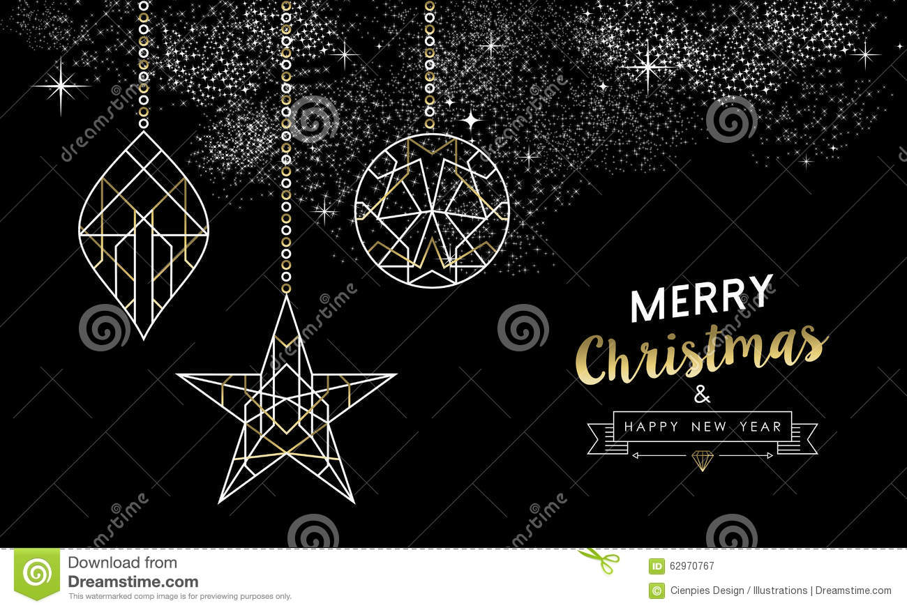 Merry Christmas And Happy New Year Photo Cards
