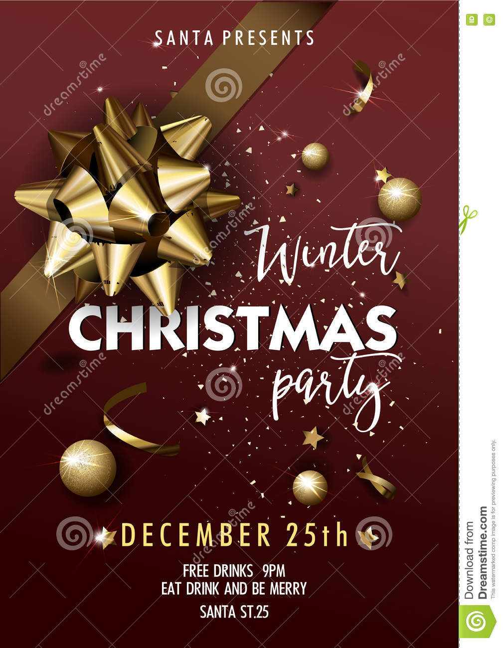 Free holiday party invitation maker picture ideas references free holiday party invitation maker merry christmas party layout poster template stopboris Image collections