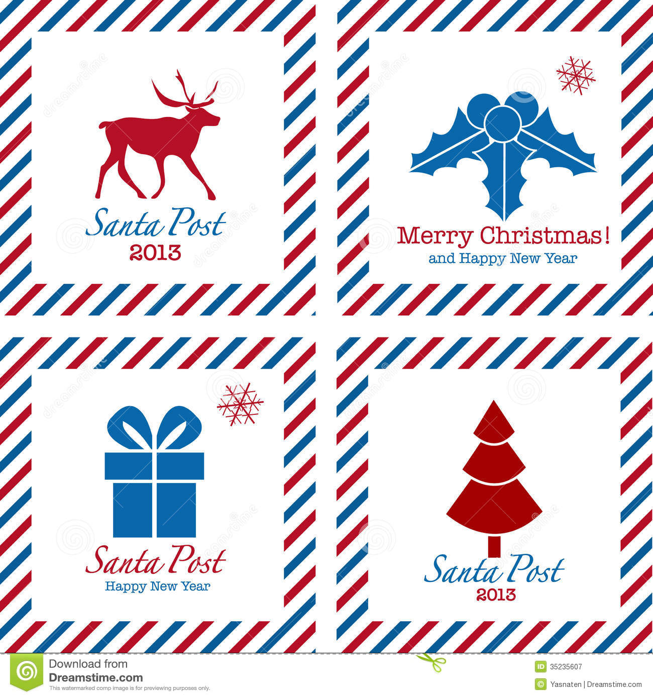 ... Postal Stamps Royalty Free Stock Photography - Image: 35235607
