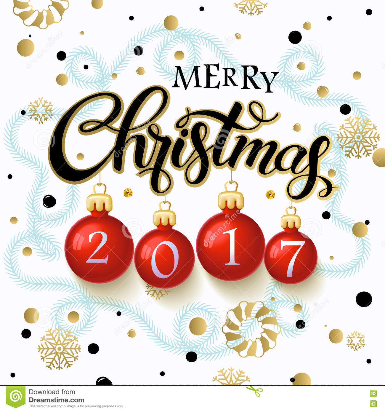 download merry christmas 2017 poster stock vector illustration of light calligraphy 79321331