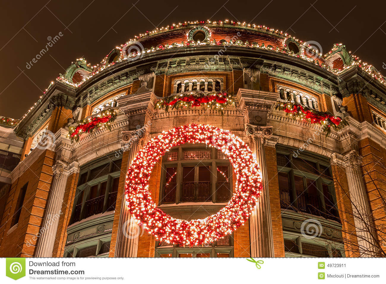 download merry christmas from quebec city stock image image of building city 49723911