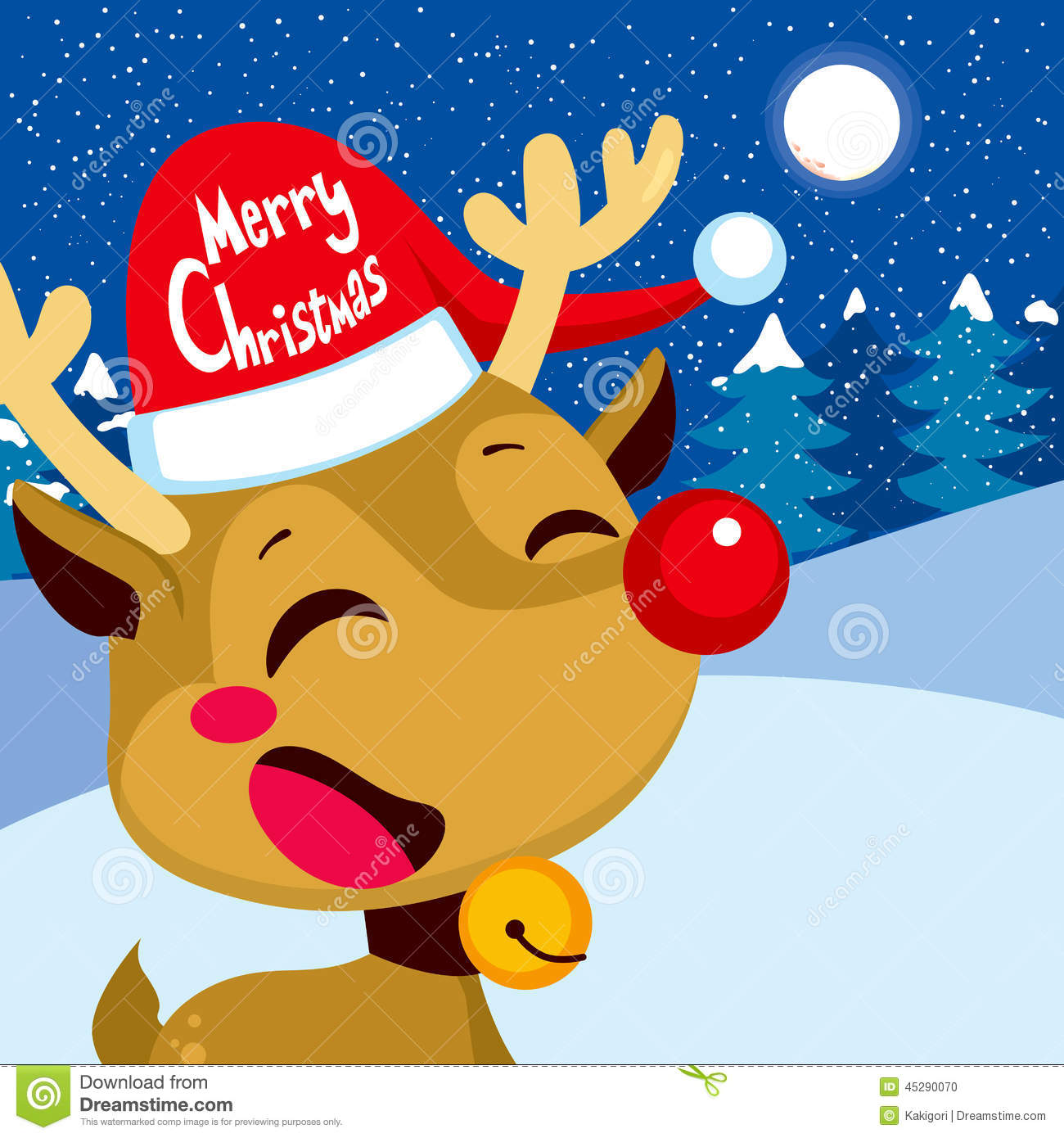 Free rudolph peeing animated christmas e-cards