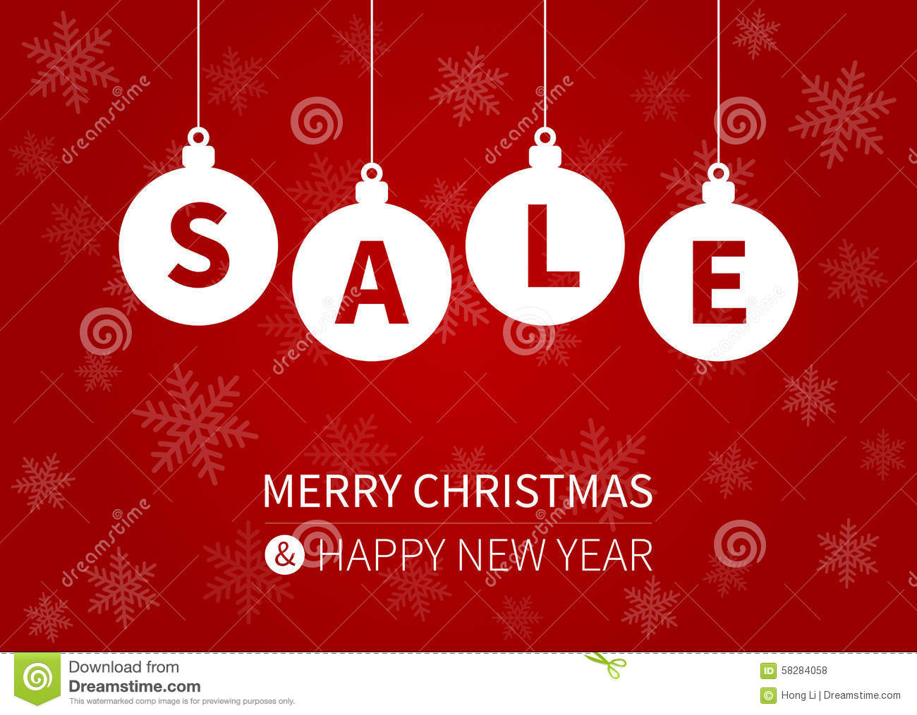 merry christmas sale promotion display poster    postcard stock vector