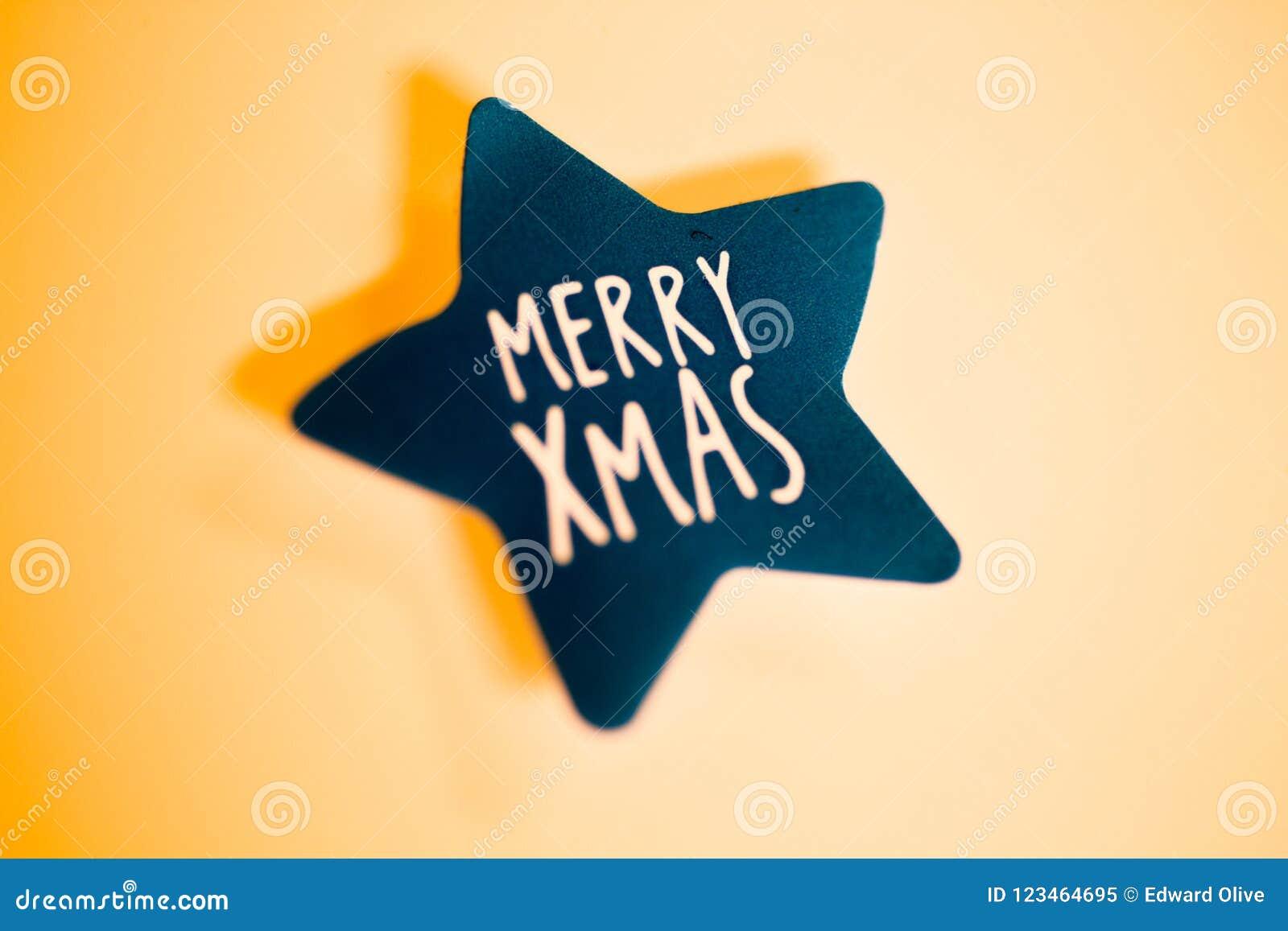 Merry Christmas Greetings Message Stock Illustration Illustration