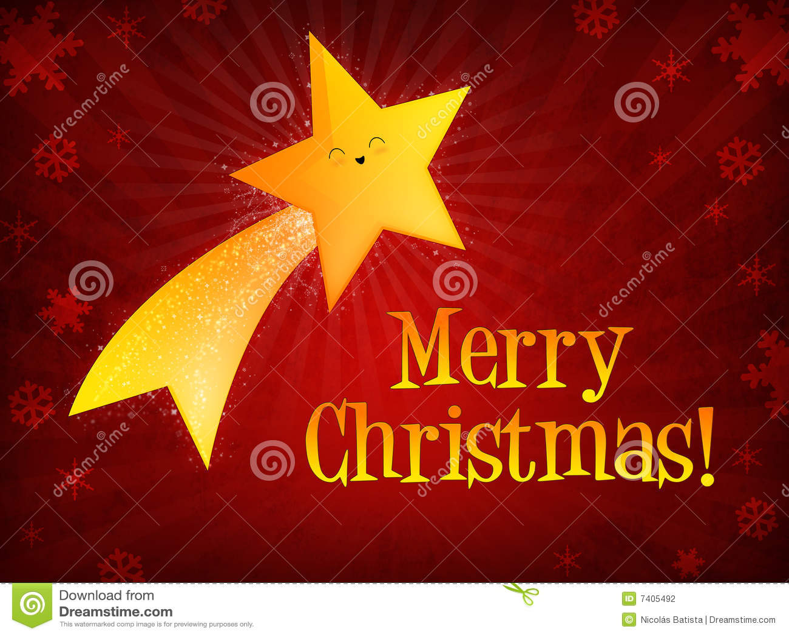 Merry Christmas Star - Image Mag