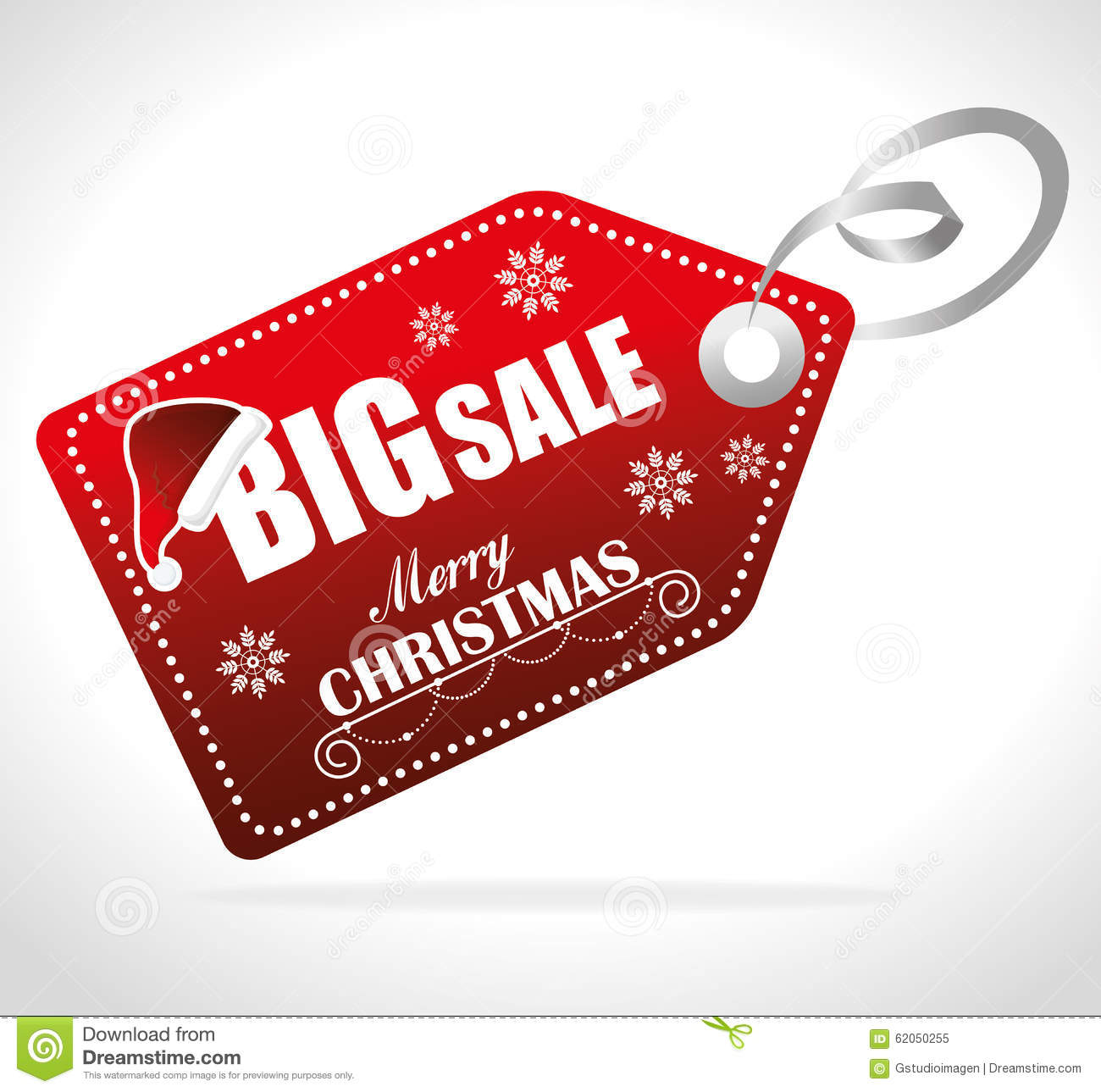 Merry Christmas Shopping Stock Vector - Image: 62050255