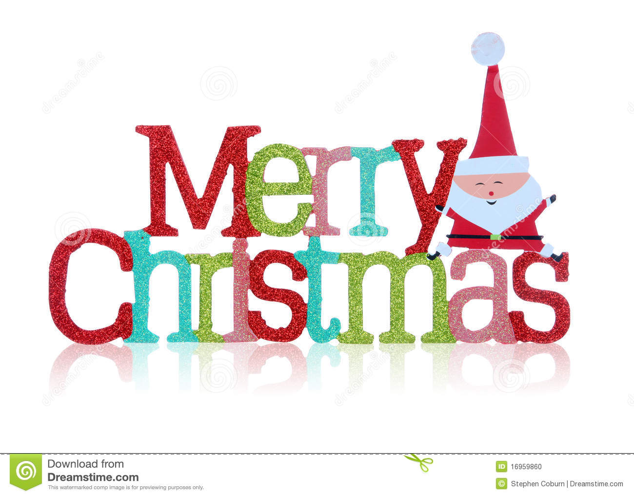 Merry Christmas Sign stock photo. Image of xmas, sparkle - 16959860