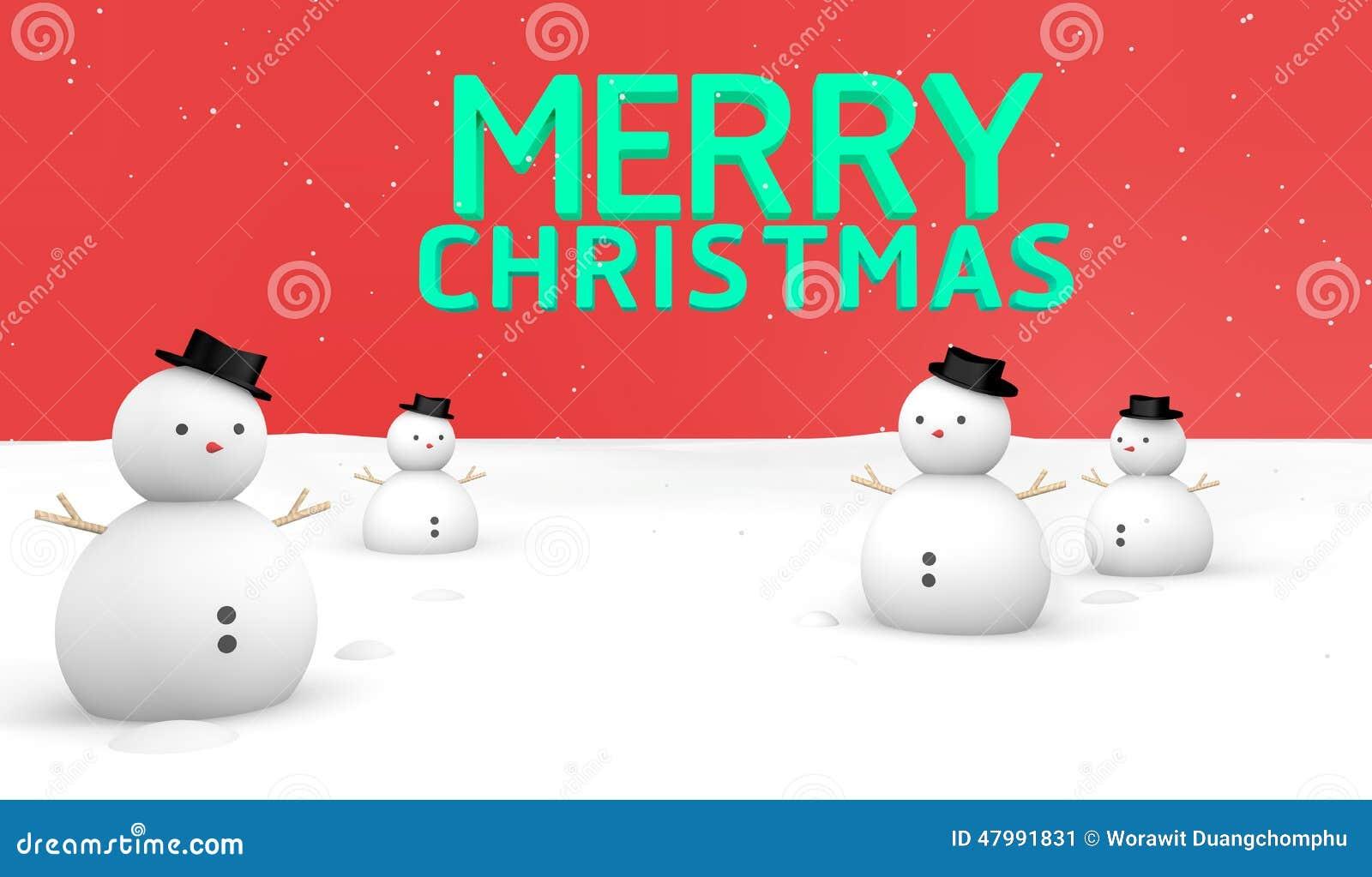 merry christmas snow ground stock illustration illustration of