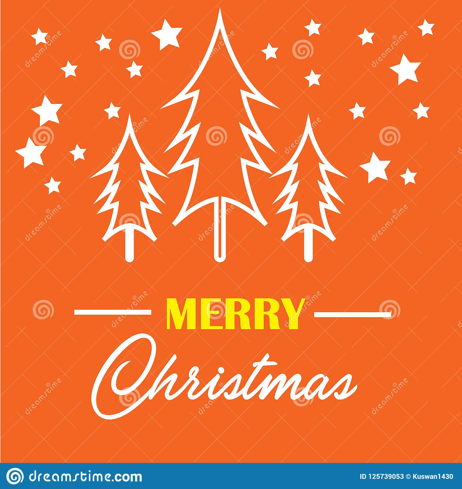 Religious Merry Christmas Images.Merry Christmas Template Design For Religion Editable Eps