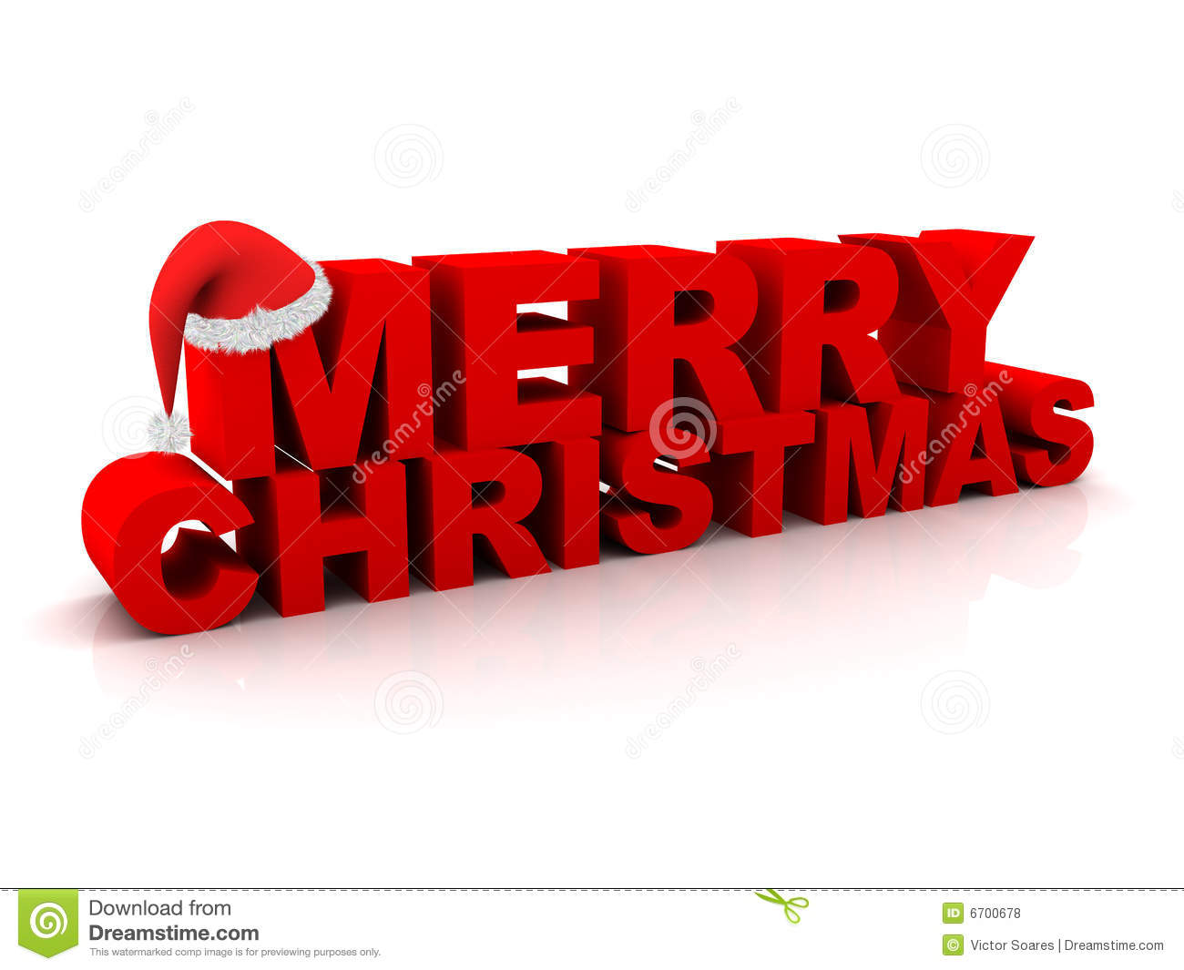 Merry Christmas Text stock illustration. Illustration of isolated ...