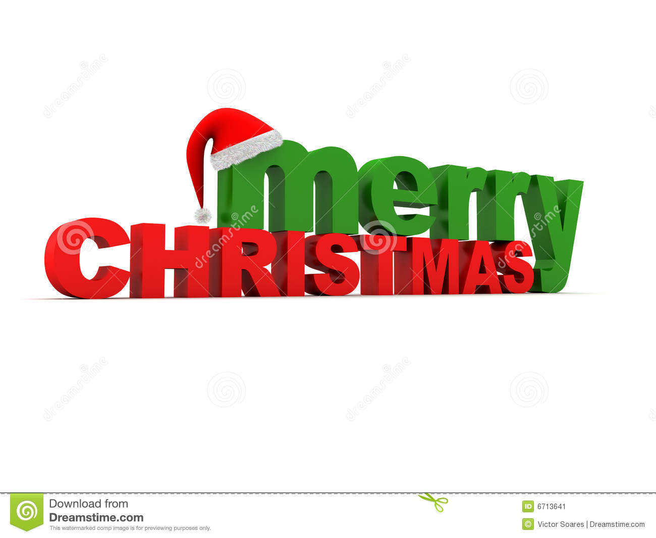 Merry Christmas Text stock illustration. Illustration of merry - 6713641