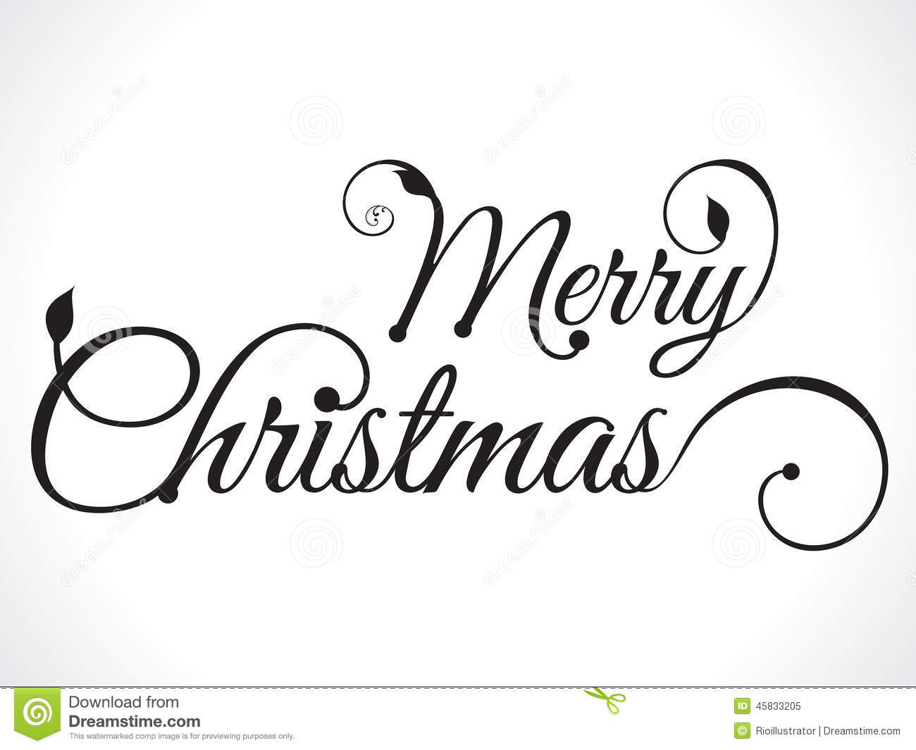 Merry Christmas Text Background Stock Vector - Illustration of ...
