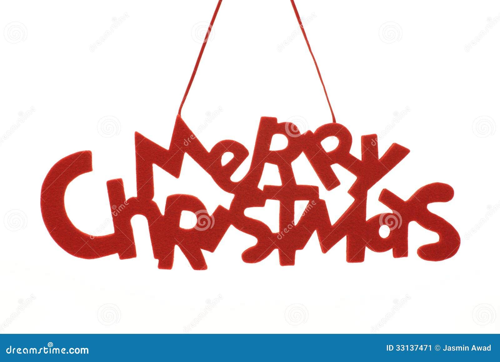 Merry Christmas Text stock image. Image of holidays, nobody - 33137471