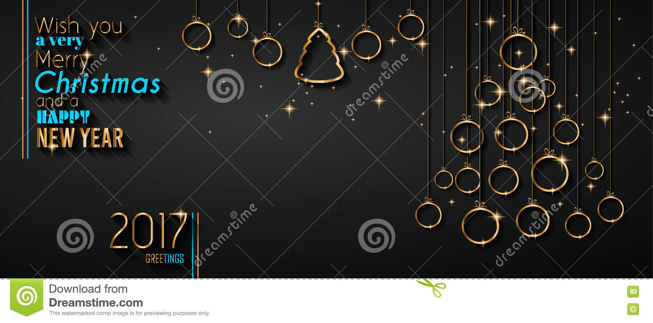 merry christmas tree flyer golden elegant baubles and glowing merry christmas tree flyer golden elegant baubles and glowing light stars