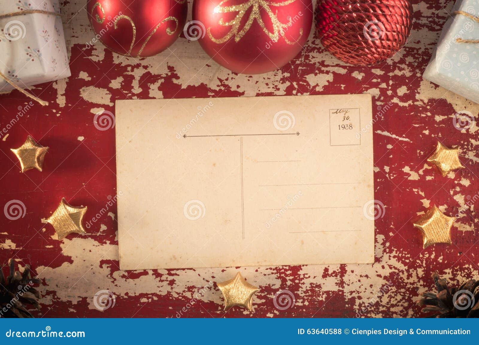 vintage merry christmas holiday postcard stock vector image merry christmas vintage hipster postcard template royalty stock photos