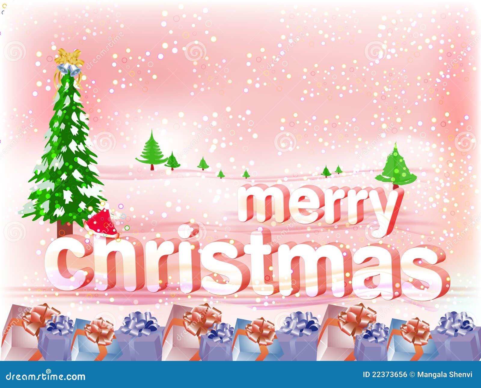 Merry Christmas Wallpaper.Merry Christmas Wallpaper Stock Vector Illustration Of
