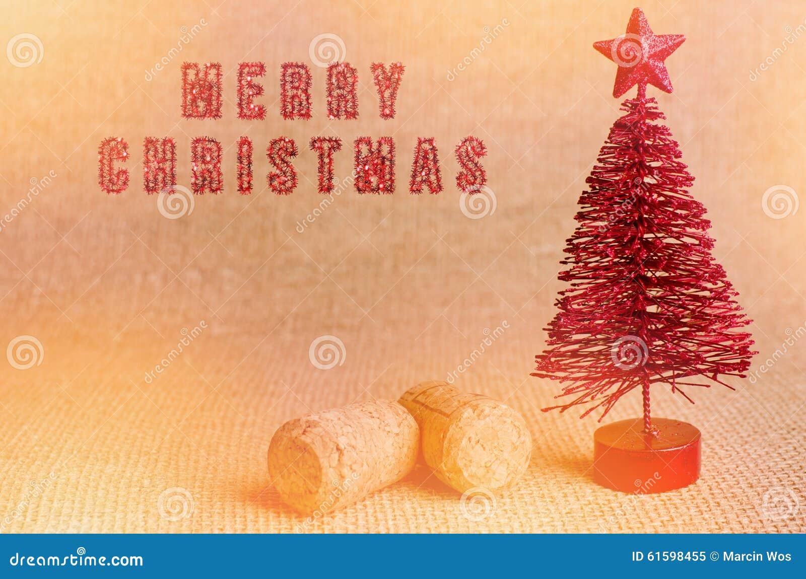 Wine Cork Christmas Tree Ornaments