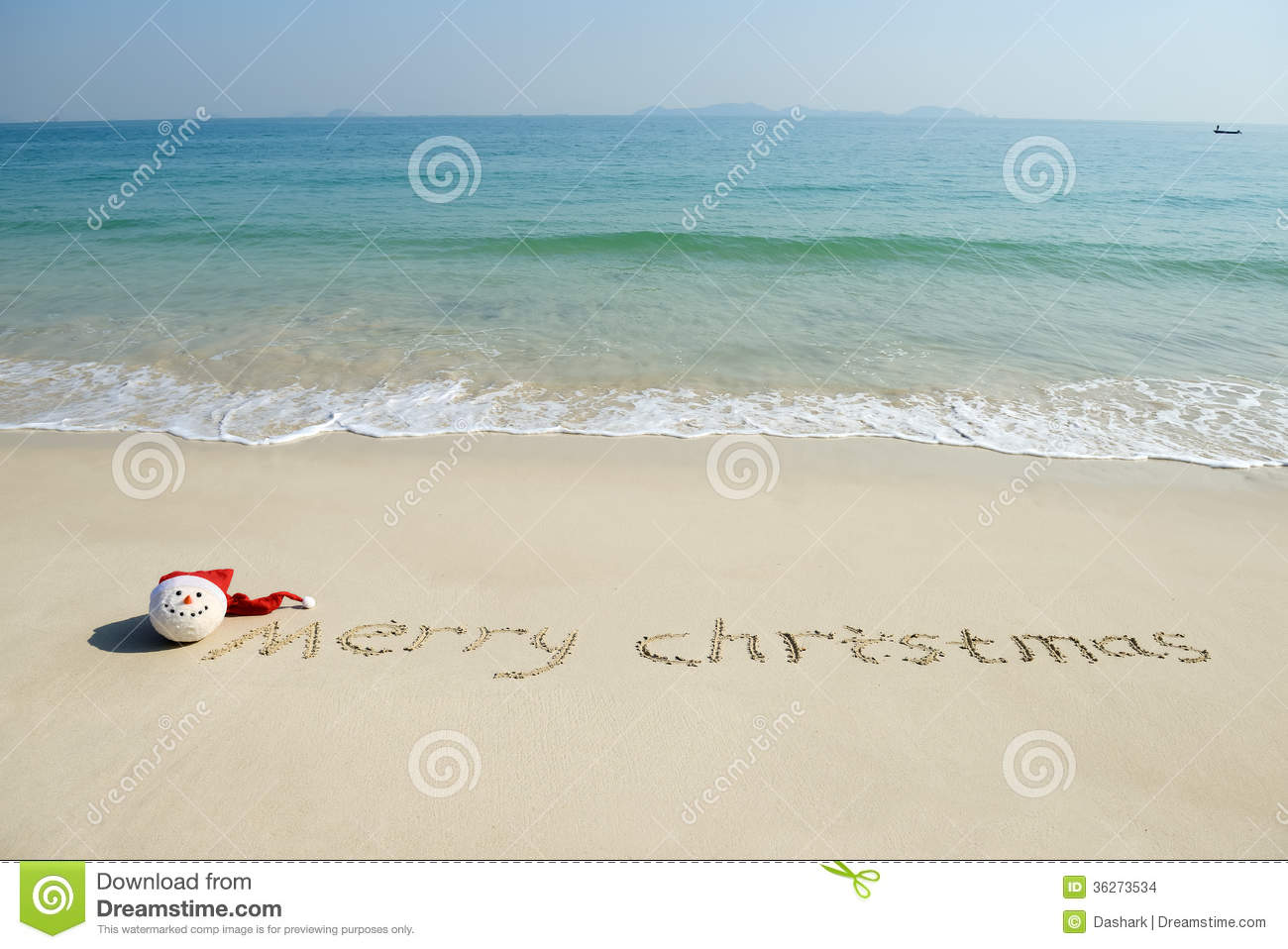 download merry christmas written on tropical beach white sand stock photo image of calendar - Merry Christmas Beach Images