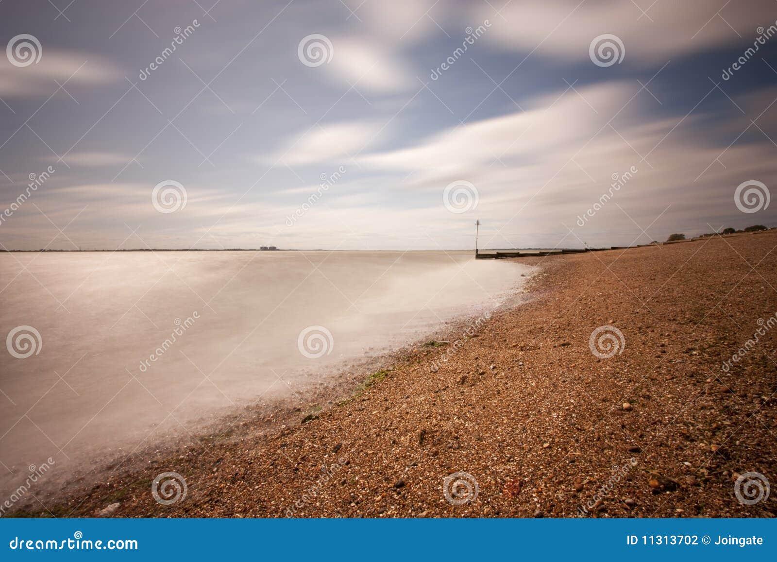 Mersea пляжа