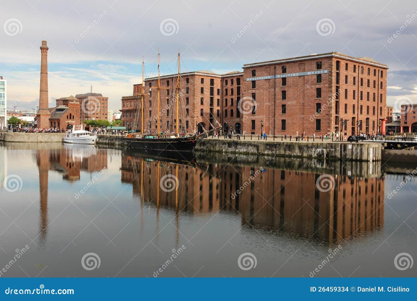 Merseyside maritimt museum. Liverpool