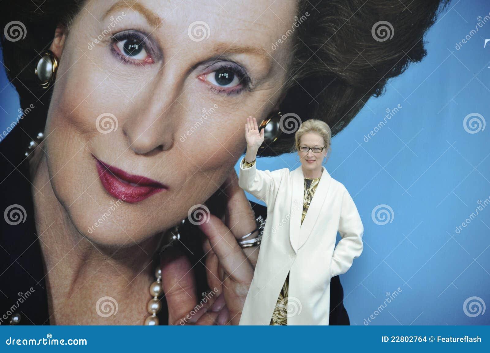 Meryl streep Θάτσερ της Margaret