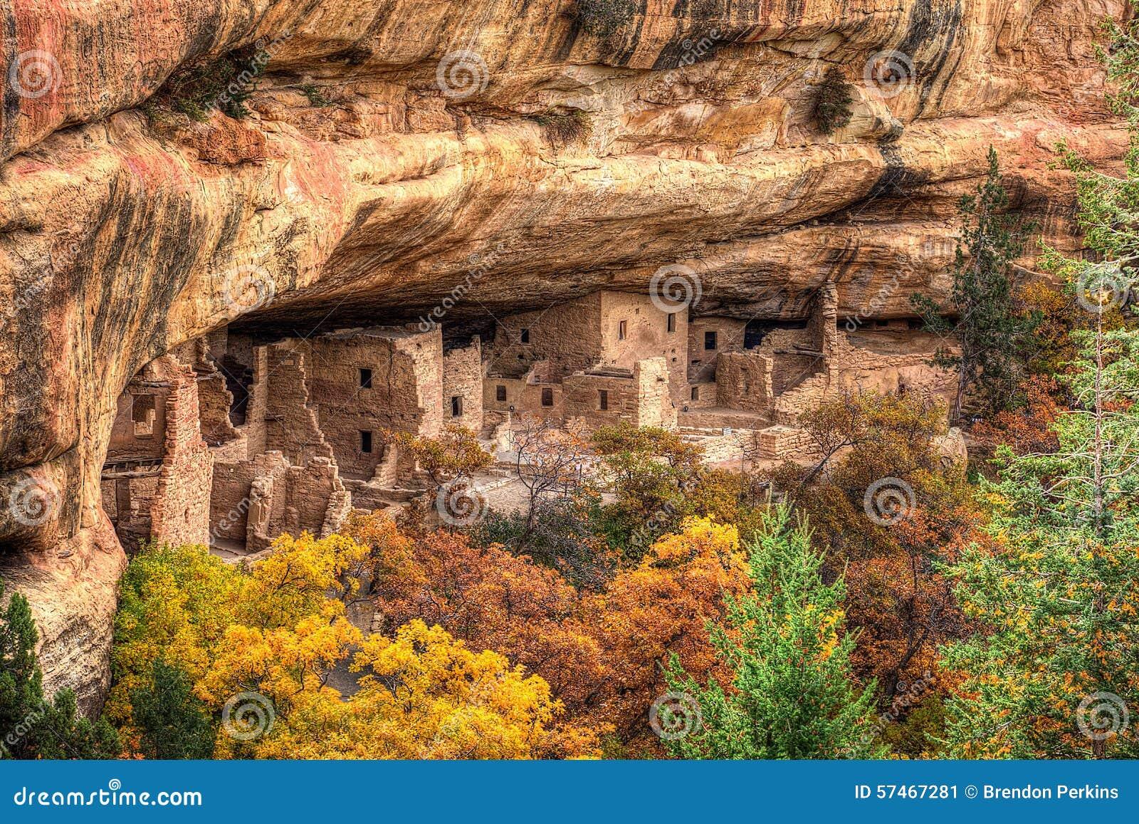 Mesa κατοικιών απότομων βράχων v