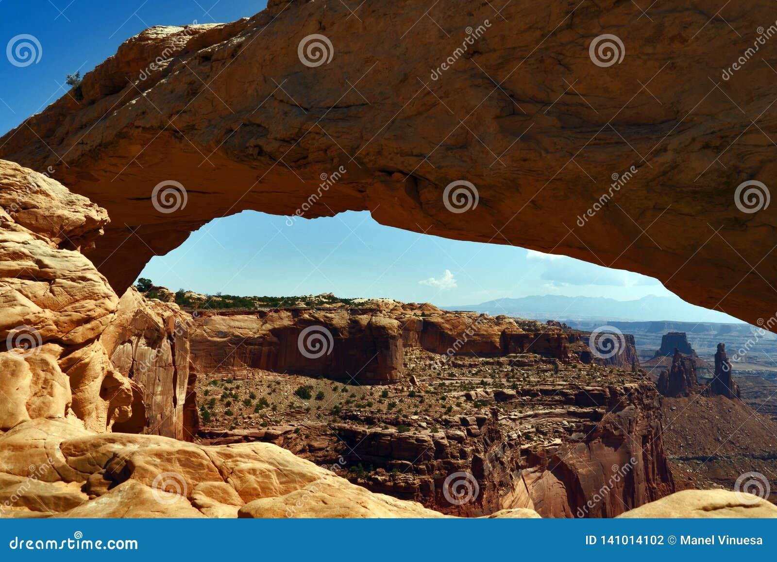 Mesa Arch, parco nazionale di Canyonlands, Utah, U.S.A.