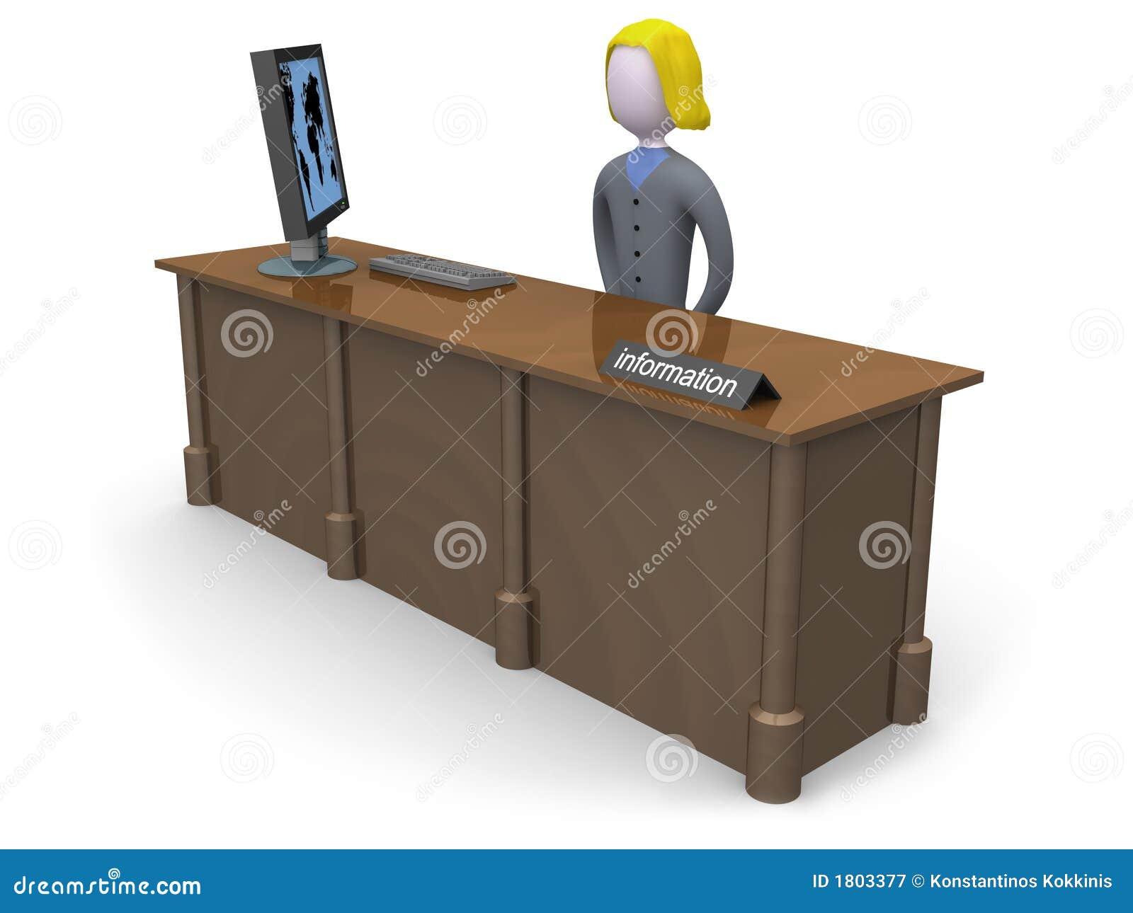 Mesa de informação