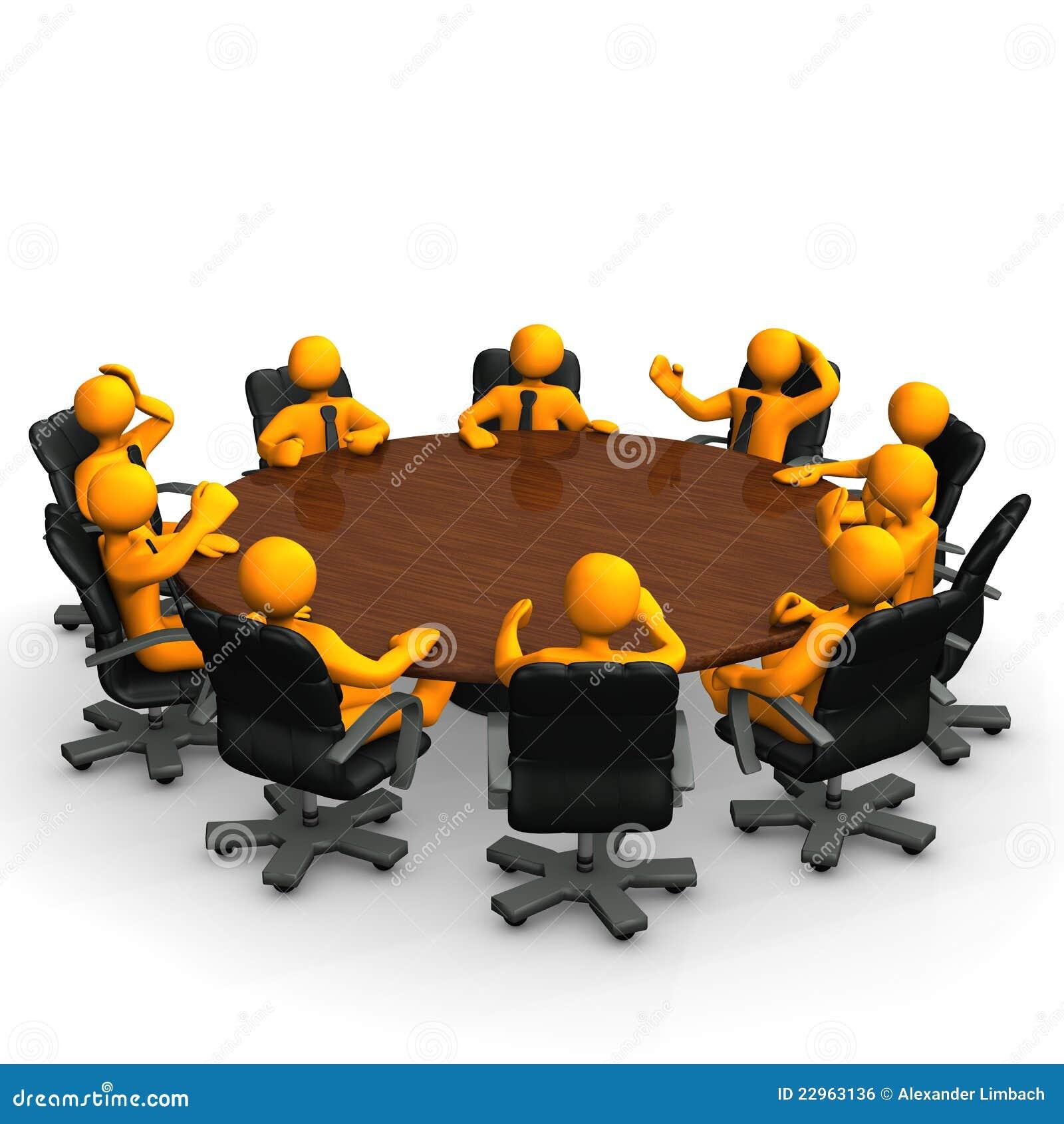 Mesa de reuniones imagen de archivo libre de regal as for Mesa de reuniones