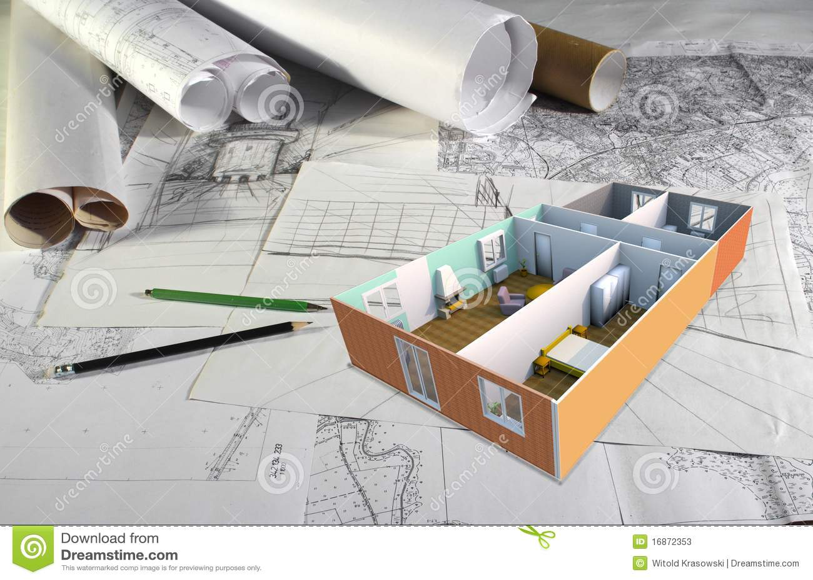 Mesa do arquiteto
