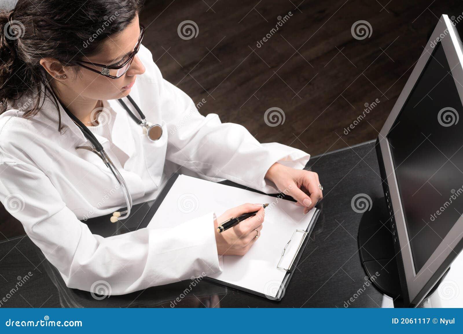 Mesa do doutor