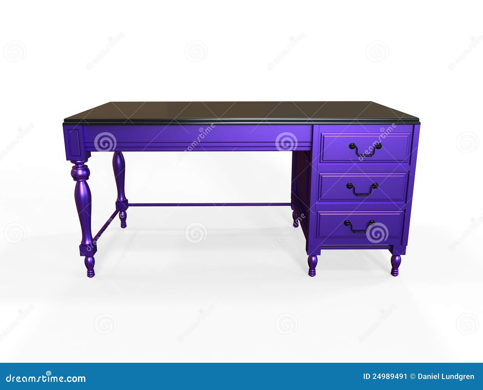 Mesa inspirada colonial moderna ilustra o stock - Mesa escritorio colonial ...
