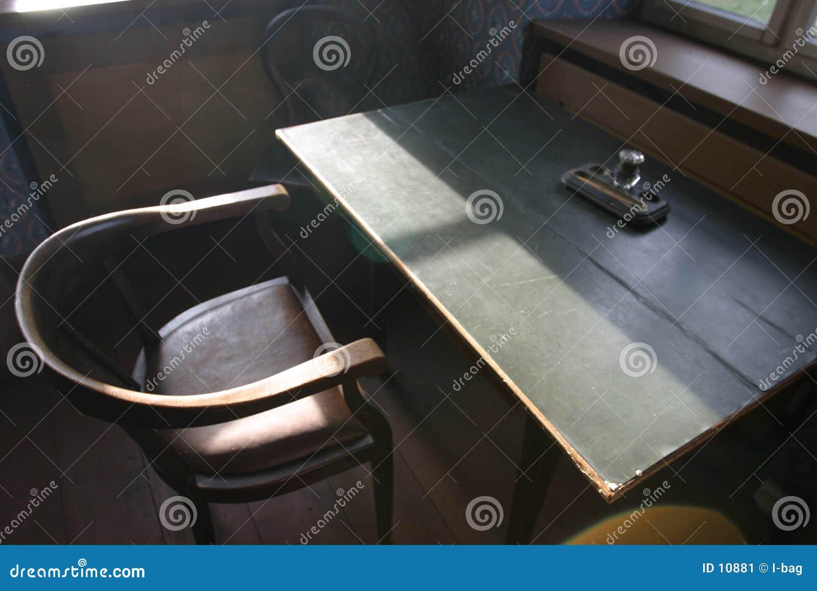 Mesa muy vieja