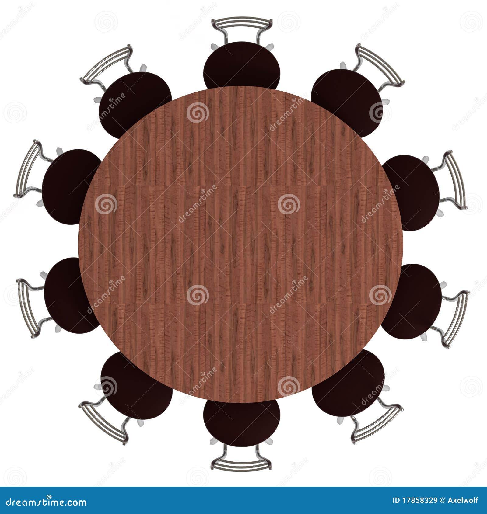 Mesa Redonda E Cadeiras Vista Superior Isolada  : mesa redonda e cadeiras vista superior isolada 17858329 from pt.dreamstime.com size 1300 x 1390 jpeg 151kB