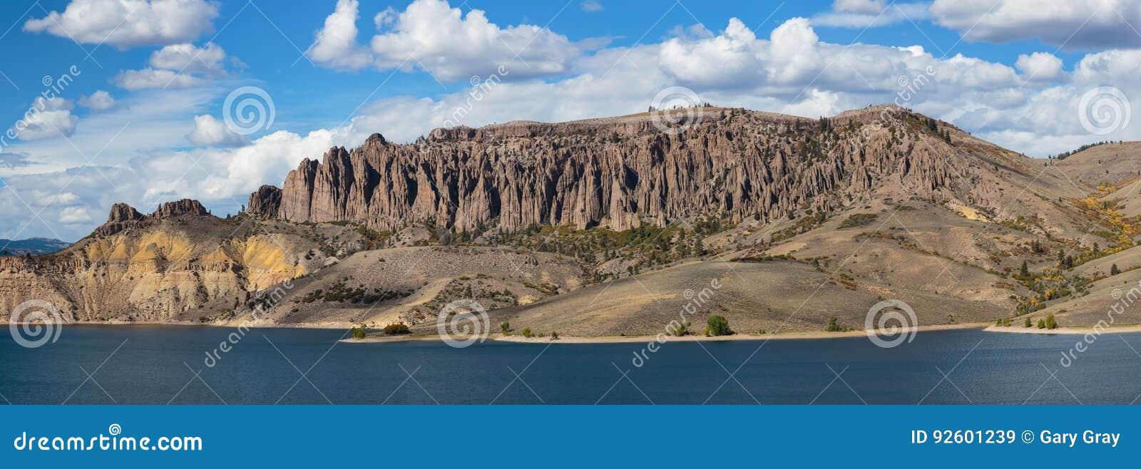 Mesa Reservoir bleu dans le Colorado