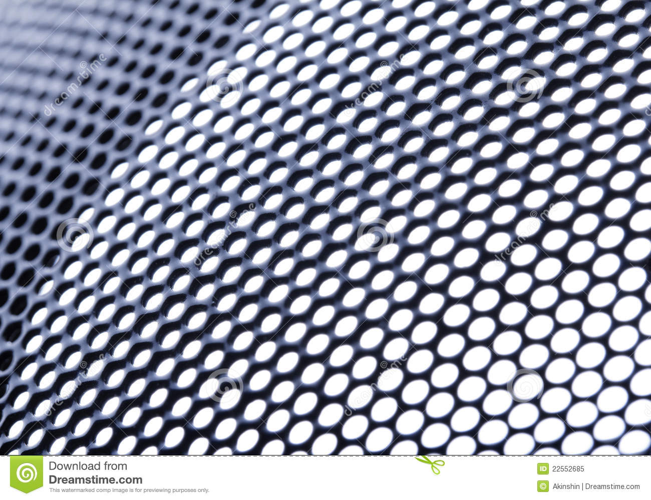Technology Background With Circular Mesh: Mesh Background Stock Image. Image Of Macro, Circular