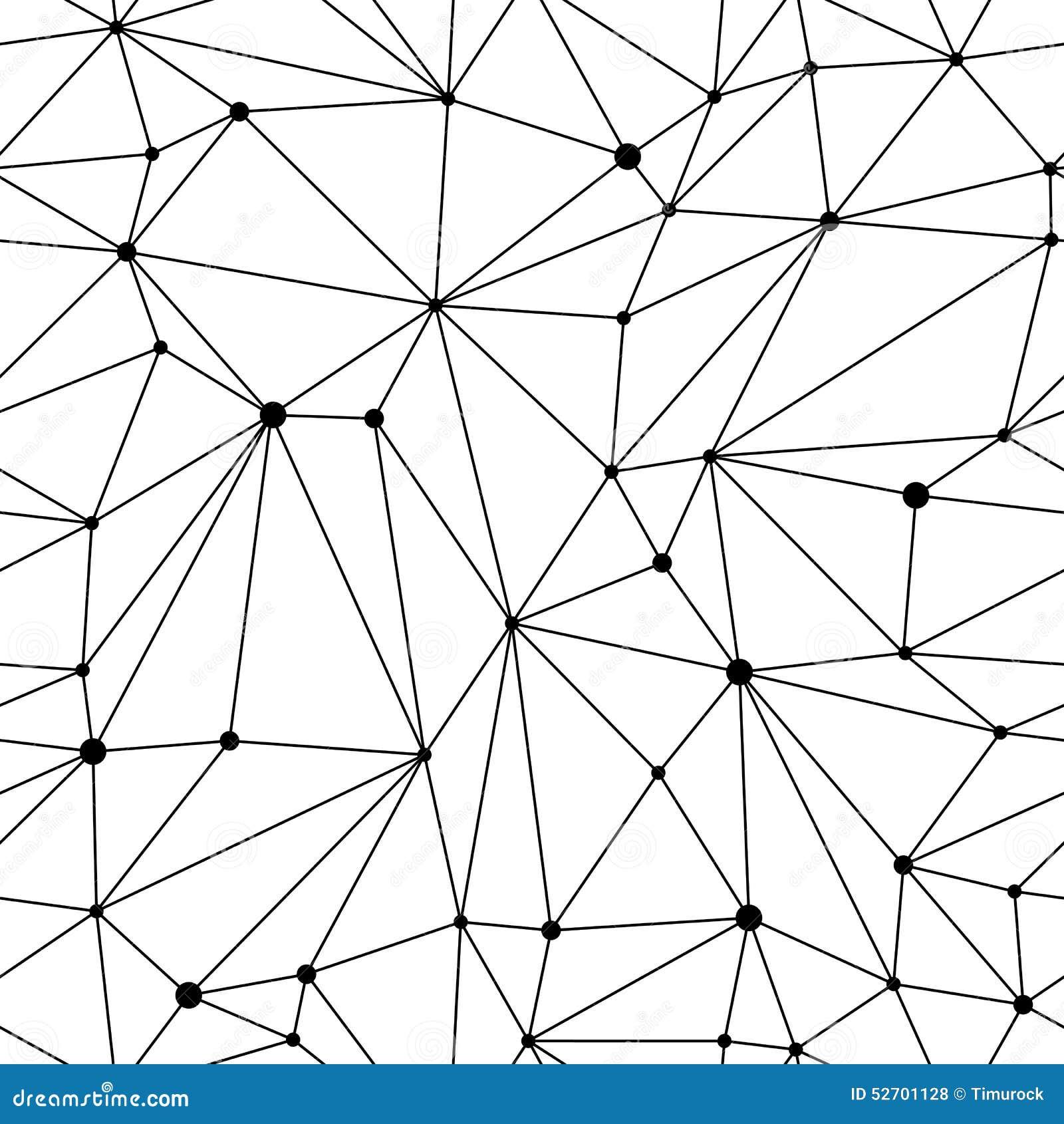 Mesh seamless pattern g om trique illustration de vecteur for Architecture geometrique