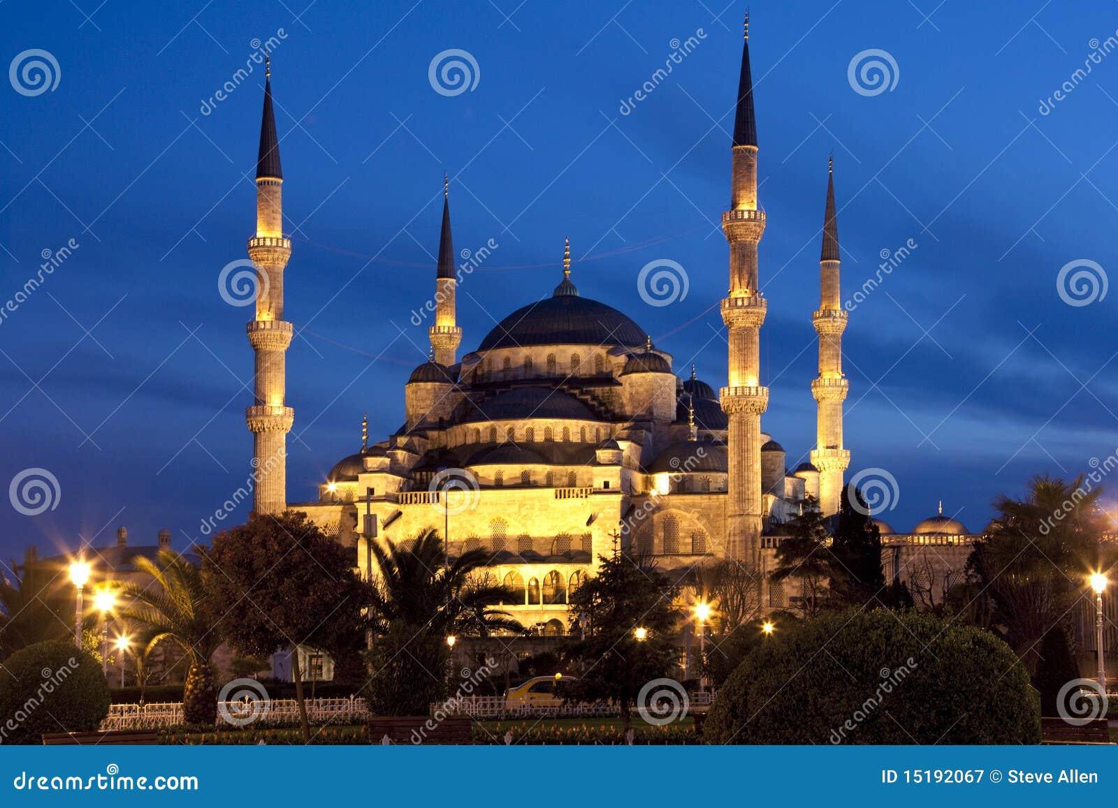 A mesquita azul - Istambul